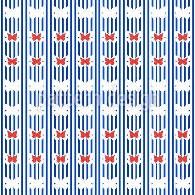 Streifen-Schmetterlinge Rapport
