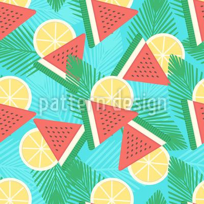 Frischer Sommer Designmuster