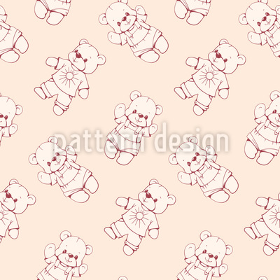 Teddys Über Teddys Vektor Design