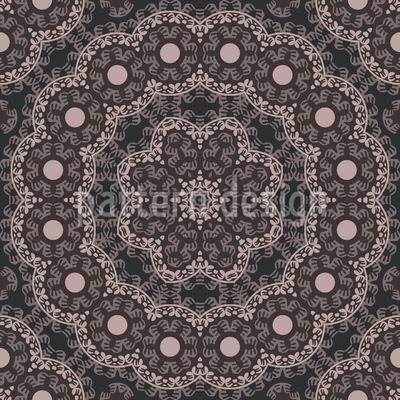 Geheimnisvolle Schönheit Nahtloses Muster