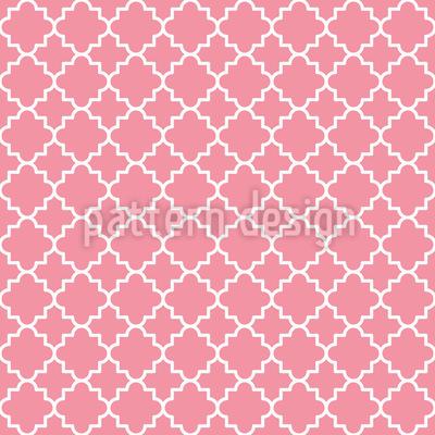 Quatrefoil marroquino Design de padrão vetorial sem costura