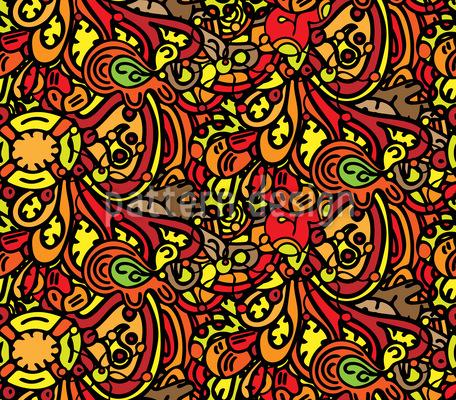 Doodleland Vektor Design