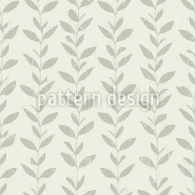 Blättergirlanden Nahtloses Muster