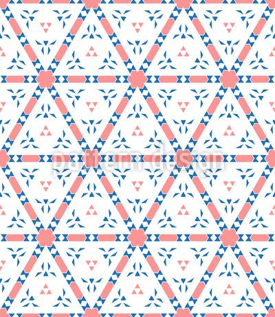 Moderne Dreiecke Oder Sechsecke Rapport
