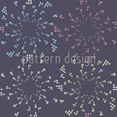 Stadt Feuerwerk Designmuster