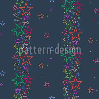 Bordüre Sterne Vektor Design
