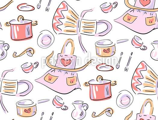 Küchenschürze Rapport