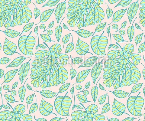 Tropische Streifen Muster Design