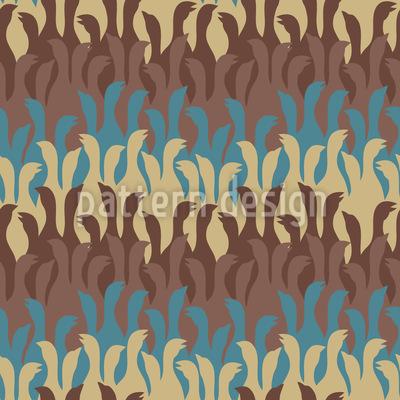 トーキング・グース シームレスなベクトルパターン設計