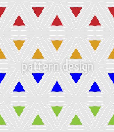 Mit Feinen Linien Gehalten Vektor Muster