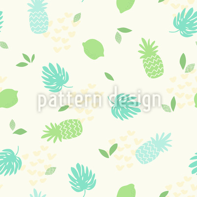 Fresh Summer Feelings Seamless Vector Pattern Design