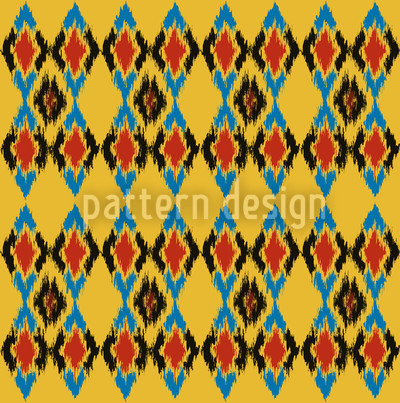部族舞踊の日 シームレスなベクトルパターン設計