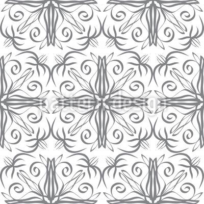 Florale Verbindungslinien Vektor Design