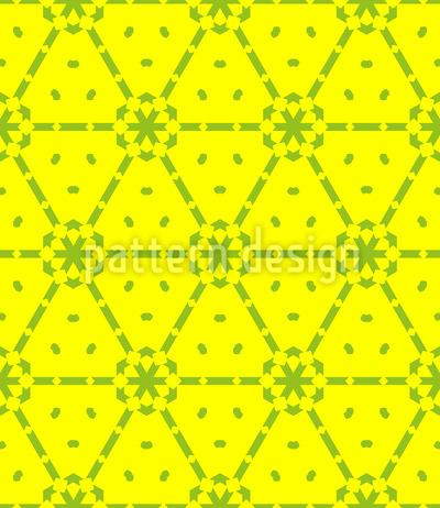 Treffpunkte Bilden Nahtloses Vektor Muster