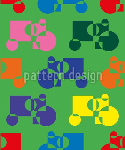 Grafische Traktoren Vektor Design