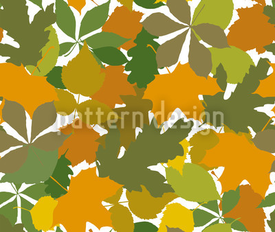 Canopy Of Leaves Vector Design