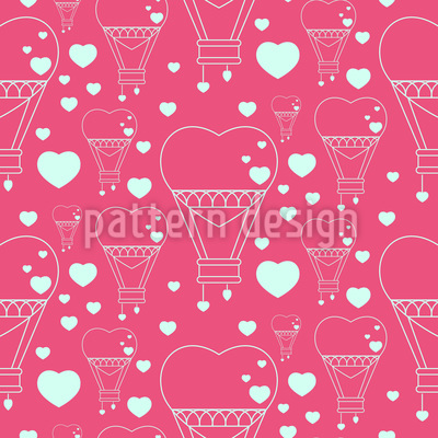 Heart Balloons Pattern Design