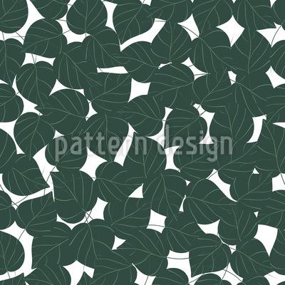Birkenblätter Vektor Ornament