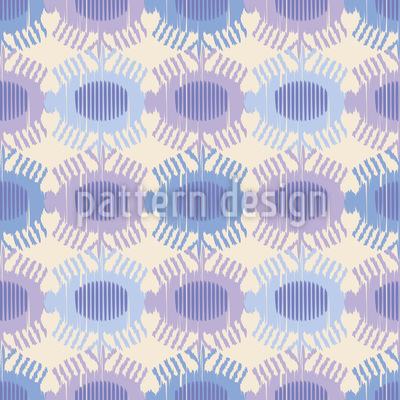 Crowned Eyes Seamless Pattern