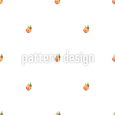 Fallende Pfingstrosenknospen Vektor Muster