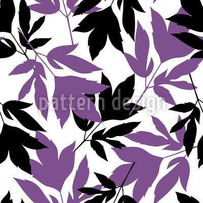 Peony Foliage Repeating Pattern