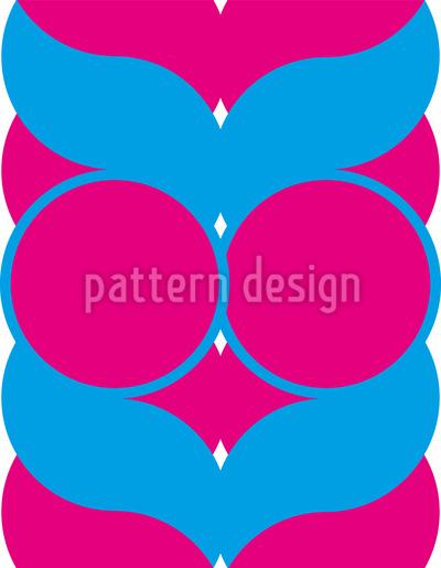 Trança Design de padrão vetorial sem costura