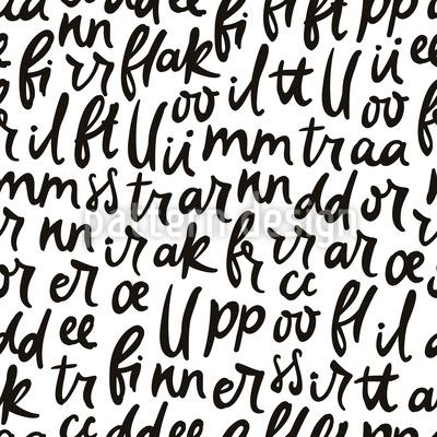 Buchstaben Tanzen Nahtloses Muster
