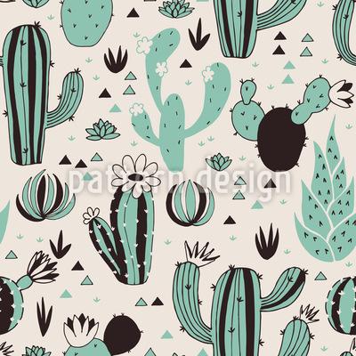Kaktus trifft Dreiecke Rapport