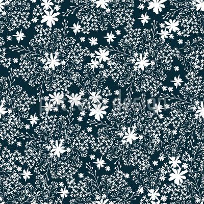 Schönheit Der Wiese Vektor Muster
