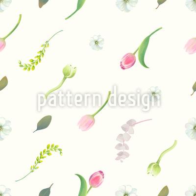 Blumen Traum  Nahtloses Muster