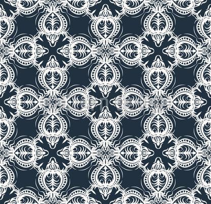 Retro Ornamente mit schwarzweißen Arabesken Vektor Muster