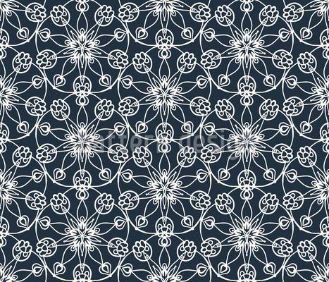 Geometrie der Blumen Designmuster