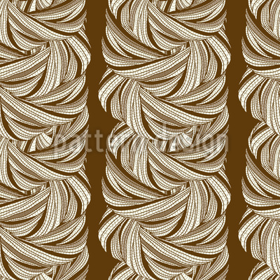 Wirre Wellen Vektor Ornament