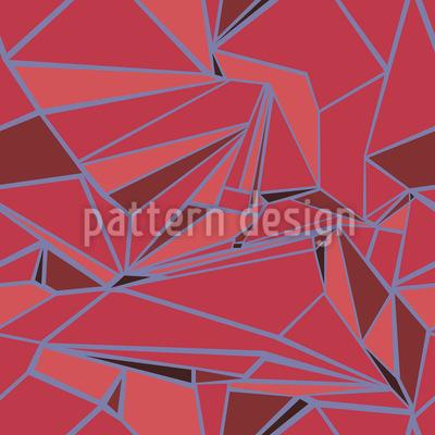 Zerbrechendes Glas Muster Design