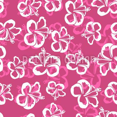 Hawaiianische Hibiskus Blüten Rapport