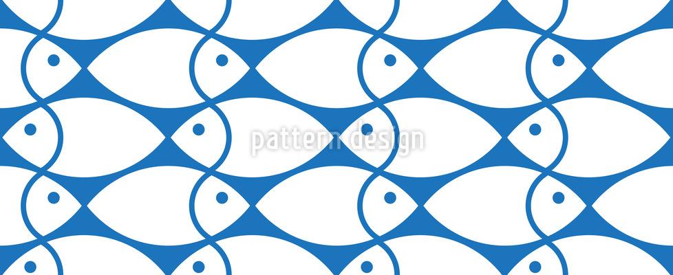 Fischschwarm Musterdesign