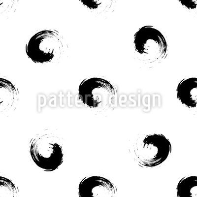 Künstlerische Grunge Wirbel Rapportiertes Design