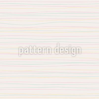Geschwungene Linien Muster Design