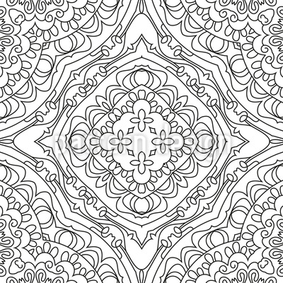 Beschreibende Linien Musterdesign