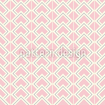 Art Deco Geometry Seamless Vector Pattern Design