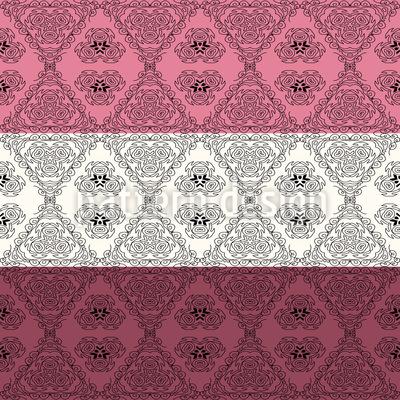 Verzierte dekorative Streifen Vektor Ornament