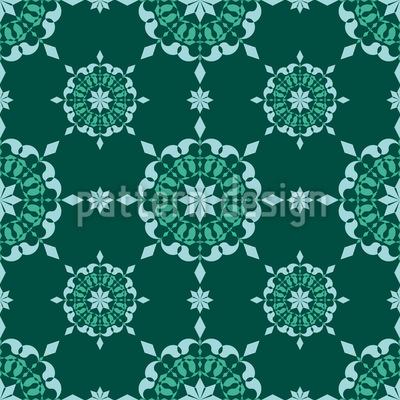 Häkeldeckchen Vektor Muster