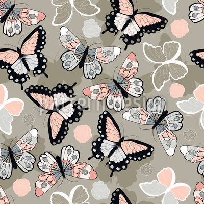 Schmetterlingsparty Designmuster