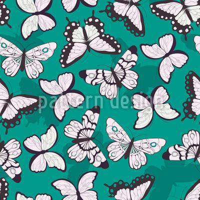 Helle Schmetterlinge Nahtloses Muster
