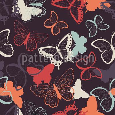 Schmeichelhafte Schmetterlinge Designmuster