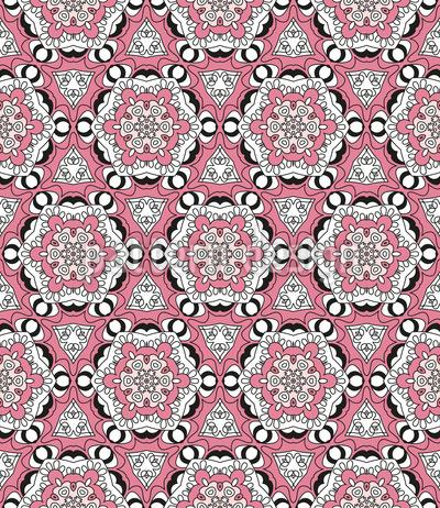 Verbund Von Blüten Vektor Design