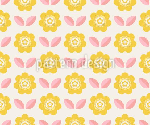 Sun Blossoms Pattern Design