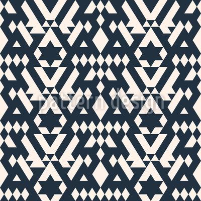Ethnische Webkunst Muster Design