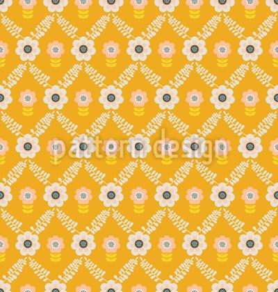 Grelha vintage Design de padrão vetorial sem costura