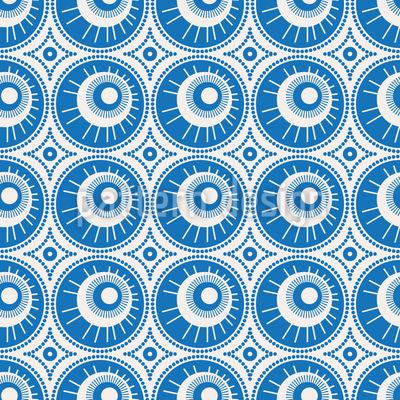 Sun Eyes Pattern Design
